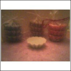 Small Round Wax Tart Melts