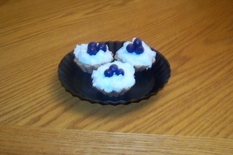 3 Sm. Blueberry Tart Wax Melts